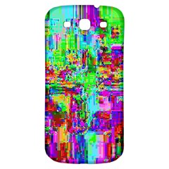 Compression Pattern Generator Samsung Galaxy S3 S III Classic Hardshell Back Case