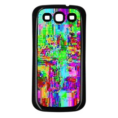 Compression Pattern Generator Samsung Galaxy S3 Back Case (black)