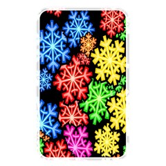 Colourful Snowflake Wallpaper Pattern Memory Card Reader