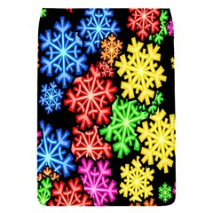 Colourful Snowflake Wallpaper Pattern Flap Covers (S)