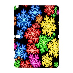 Colourful Snowflake Wallpaper Pattern Galaxy Note 1