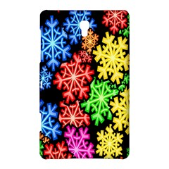 Colourful Snowflake Wallpaper Pattern Samsung Galaxy Tab S (8 4 ) Hardshell Case