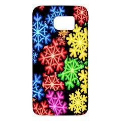 Colourful Snowflake Wallpaper Pattern Galaxy S6