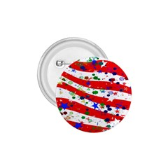 Confetti Star Parade Usa Lines 1.75  Buttons