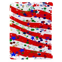 Confetti Star Parade Usa Lines Apple Ipad 3/4 Hardshell Case (compatible With Smart Cover)