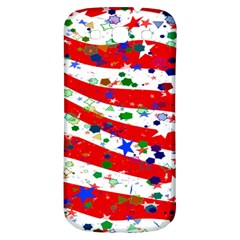 Confetti Star Parade Usa Lines Samsung Galaxy S3 S Iii Classic Hardshell Back Case