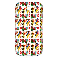 Construction Pattern Background Samsung Galaxy S3 S Iii Classic Hardshell Back Case