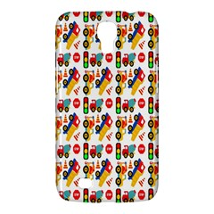 Construction Pattern Background Samsung Galaxy Mega 6.3  I9200 Hardshell Case