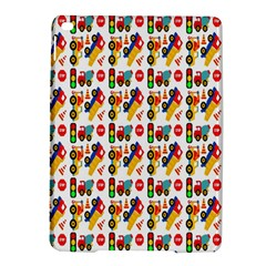 Construction Pattern Background Ipad Air 2 Hardshell Cases