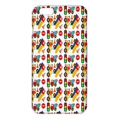 Construction Pattern Background Iphone 6 Plus/6s Plus Tpu Case
