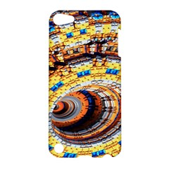 Complex Fractal Chaos Grid Clock Apple Ipod Touch 5 Hardshell Case