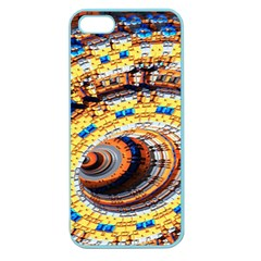 Complex Fractal Chaos Grid Clock Apple Seamless iPhone 5 Case (Color)
