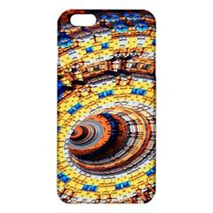 Complex Fractal Chaos Grid Clock iPhone 6 Plus/6S Plus TPU Case