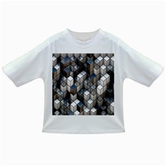 Cube Design Background Modern Infant/Toddler T-Shirts