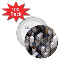 Cube Design Background Modern 1.75  Buttons (100 pack)