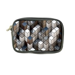 Cube Design Background Modern Coin Purse