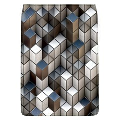 Cube Design Background Modern Flap Covers (L)