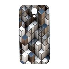 Cube Design Background Modern Samsung Galaxy S4 I9500/i9505  Hardshell Back Case