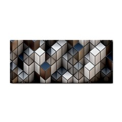 Cube Design Background Modern Cosmetic Storage Cases
