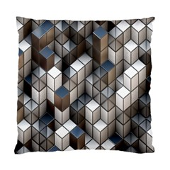 Cube Design Background Modern Standard Cushion Case (Two Sides)