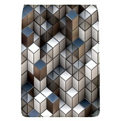 Cube Design Background Modern Flap Covers (S)