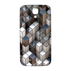 Cube Design Background Modern Samsung Galaxy S4 I9500/i9505  Hardshell Back Case