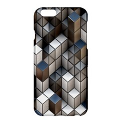 Cube Design Background Modern Apple iPhone 6 Plus/6S Plus Hardshell Case