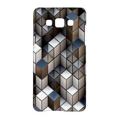 Cube Design Background Modern Samsung Galaxy A5 Hardshell Case