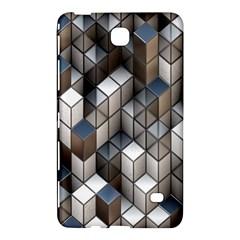 Cube Design Background Modern Samsung Galaxy Tab 4 (7 ) Hardshell Case