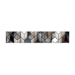 Cube Design Background Modern Flano Scarf (mini)