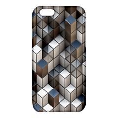 Cube Design Background Modern iPhone 6/6S TPU Case