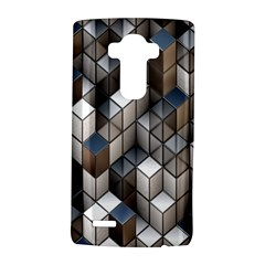 Cube Design Background Modern LG G4 Hardshell Case