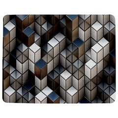 Cube Design Background Modern Jigsaw Puzzle Photo Stand (rectangular)