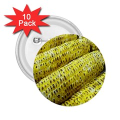 Corn Grilled Corn Cob Maize Cob 2 25  Buttons (10 Pack)