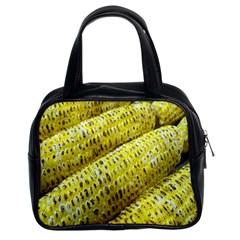 Corn Grilled Corn Cob Maize Cob Classic Handbags (2 Sides)