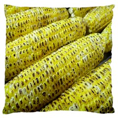 Corn Grilled Corn Cob Maize Cob Large Cushion Case (Two Sides)