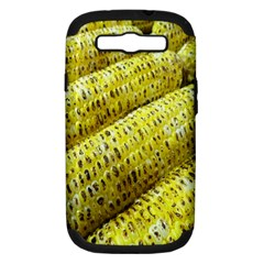 Corn Grilled Corn Cob Maize Cob Samsung Galaxy S Iii Hardshell Case (pc+silicone)