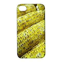 Corn Grilled Corn Cob Maize Cob Apple Iphone 4/4s Hardshell Case With Stand