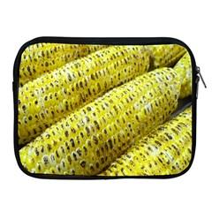 Corn Grilled Corn Cob Maize Cob Apple iPad 2/3/4 Zipper Cases