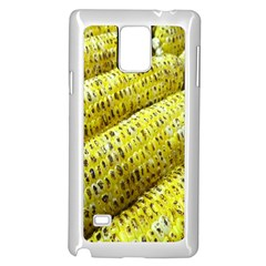 Corn Grilled Corn Cob Maize Cob Samsung Galaxy Note 4 Case (White)