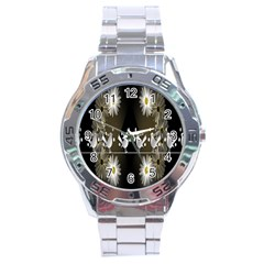 Daisy Bird  Stainless Steel Analogue Watch