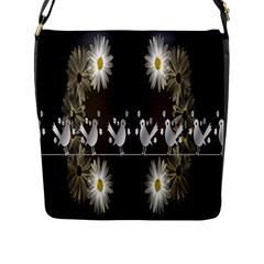 Daisy Bird  Flap Messenger Bag (L)
