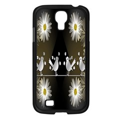 Daisy Bird  Samsung Galaxy S4 I9500/ I9505 Case (black)