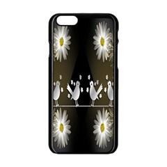 Daisy Bird  Apple Iphone 6/6s Black Enamel Case