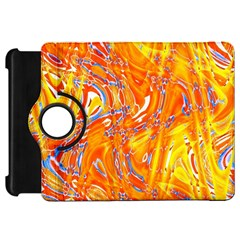 Crazy Patterns In Yellow Kindle Fire Hd 7