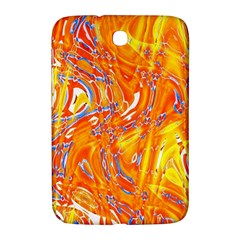 Crazy Patterns In Yellow Samsung Galaxy Note 8 0 N5100 Hardshell Case