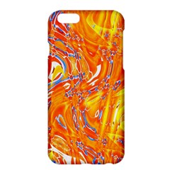 Crazy Patterns In Yellow Apple iPhone 6 Plus/6S Plus Hardshell Case