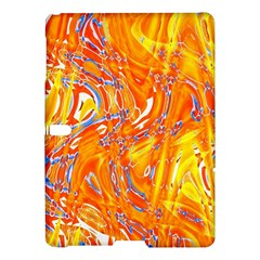 Crazy Patterns In Yellow Samsung Galaxy Tab S (10 5 ) Hardshell Case