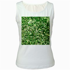 Crops Kansas Women s White Tank Top