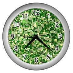 Crops Kansas Wall Clocks (Silver)